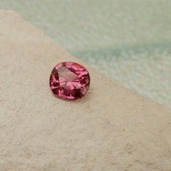 fine pink tourmaline for jewellery