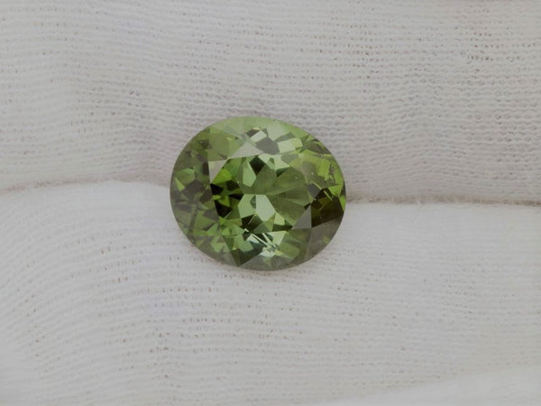 Green Tourmaline 6.13cts Oval