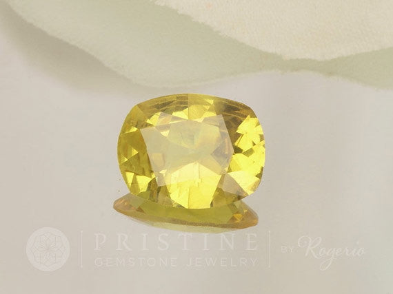 Yellow Sapphire 476 Carats Precision Cut Cushion Shape