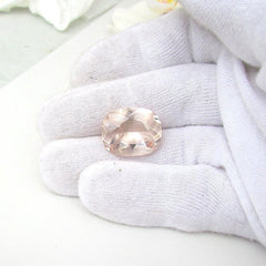 loose cushion shape morganite