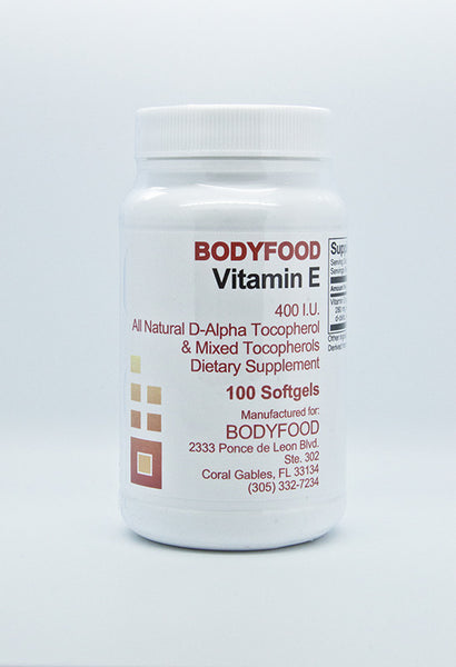 BodyFood Vitamin E