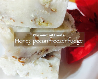 Honey Pecan Freezer fudge