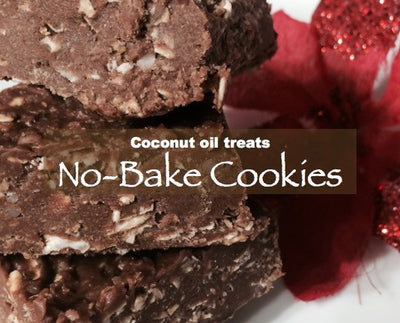 No-Bake Cookies (coconut oil treats)