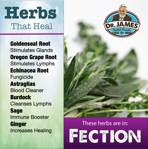 Fection herbs list
