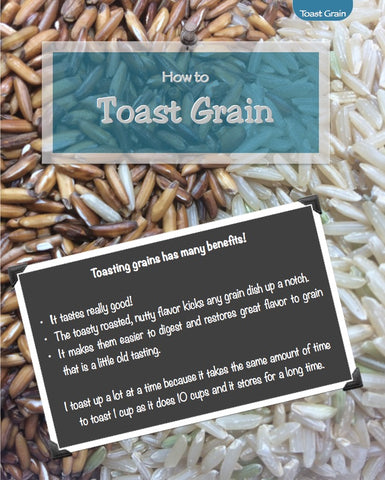 How to Toast Grains