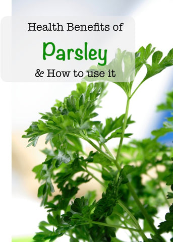 Parsley and How to use it