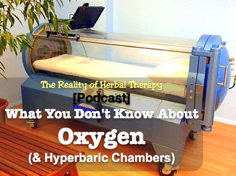 Podcast What you dont know about oxygen & Hyperbaric chambers