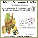 15 Day Multivitamin Pack (whole food vitamin)