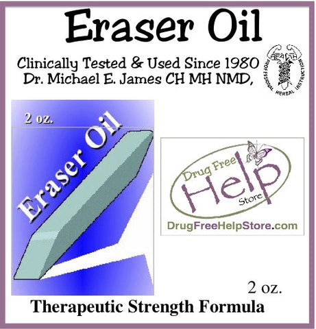 Eraser Oil 2oz
