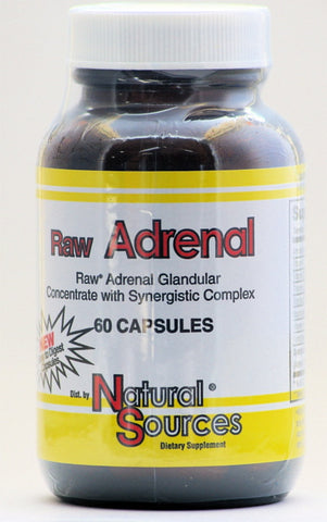 Raw Adrenal 60 capsules