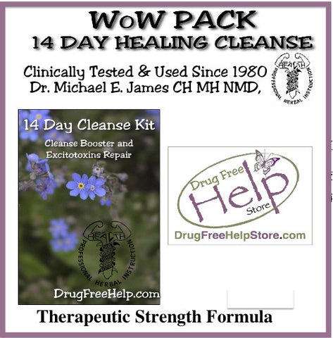 WoW Pack 14 Day Healing Cleanse