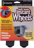 Master Caster NOM423233 Self-Adhesive Instant Wheels 4 Per Pack - Chickadee Solutions