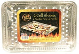 BBQ Grill Sheet Pan with Vented Bottom 12-pc Set (10x15) - Chickadee Solutions
