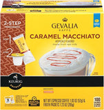 Gevalia Caramel Macchiato K-Cup Packs and Froth Packets 9 count - Chickadee Solutions - 1