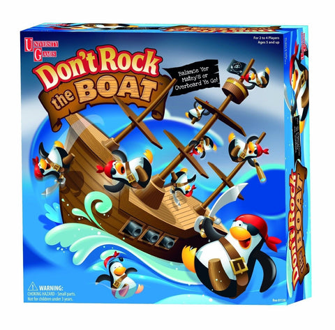 University Games Don't Rock The Boat Game ENGLISH - Chickadee Solutions - 1