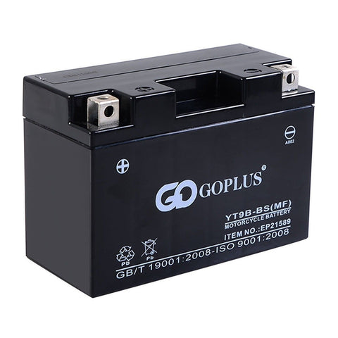 Goplus NEW 1 PC 12V 8Ah Rechargeable Electric Motor Motorcycle Cycle Battery - Chickadee Solutions - 1