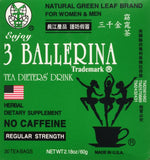3 Pack of 3 Ballerina Dieters Tea for Men and Women (3 Boxes of 30 Tea Bags) - Chickadee Solutions - 1