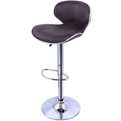 1 PC Bar Stools Leather Modern Hydraulic Swivel Dinning Chair Barstools New c... - Chickadee Solutions - 1