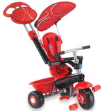 Smart Trike Sport 3-In-1 Kids Tricycle Red - Chickadee Solutions - 1