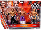 2015 Mattel NXT Superstars Sami Zayn Tyler Breeze & Neville - Chickadee Solutions