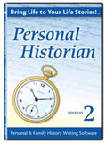 Personal Historian 2 Software - Chickadee Solutions
