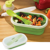 Collapsible Lunch Container with Spoon - Chickadee Solutions