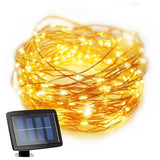 [8 Modes 100LEDs] Milocos Solar String Lights LED Solar Powered Starry String... - Chickadee Solutions - 1