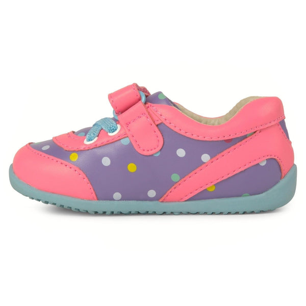 Momo Baby Girls First Walker Toddler Olivia Sneaker Shoes