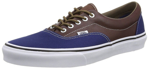 Vans Unisex Era (Leather/Plaid) Skate Shoe Esttebl/Pttngsl - Chickadee Solutions - 1