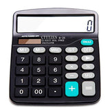 Calculator Everplus Electronic Desktop Calculator with 12 Digit Large Display... - Chickadee Solutions - 1