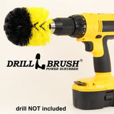 Drill Brush Cordless Drill Power Scrubber - Chickadee Solutions - 1