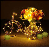 KINGLUX Decorative Indoor Christmas Party String Lights Starry lights flexibl... - Chickadee Solutions - 1