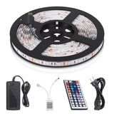 StripSun 16.4ft/5m LED Strip Waterproof Color Changing RGB SMD5050 300leds Fl... - Chickadee Solutions - 1