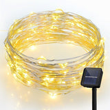VicTsing Solar String Lights100 LEDs Fairy String Lights8 Modes33ftCopper Wir... - Chickadee Solutions - 1