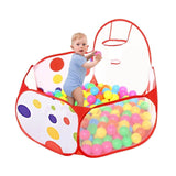 Justmysport Ball Play Pool Ball Play Tent 47.24Inch Playpen Ball Pit Pool Ind... - Chickadee Solutions - 1