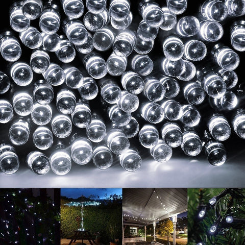 Solar String LightsEonfine 72ft 22m 200 LED Solar Powered Party String Lights... - Chickadee Solutions - 1