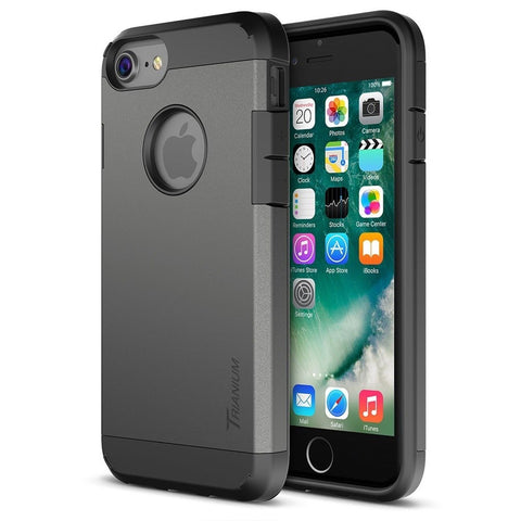 iPhone 7 Case Trianium Protanium Series HEAVY DUTY Cases w/ [GXD Impact Gel] ... - Chickadee Solutions - 1