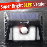 Escolite Solar Lights Power Security Light 8 LED Garden Decor Emergency Outdo... - Chickadee Solutions - 1