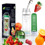 Maximum Weight Loss and Diet Fruit Infusion Water Bottle - Easy to clean Dish... - Chickadee Solutions - 1