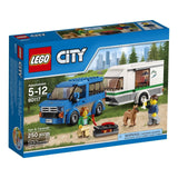 LEGO CITY Van & Caravan 60117 - Chickadee Solutions - 1