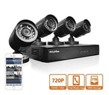 LaView 4 HD 720P Camera Security System 4 Channel 720P HD-TVI DVR w/1TB HDD a... - Chickadee Solutions - 1