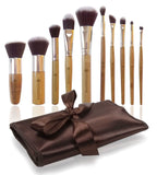 Missam 10 Pcs Makeup Brushes For Face And Eye Cosmetics Premium Synthetic Hai... - Chickadee Solutions - 1
