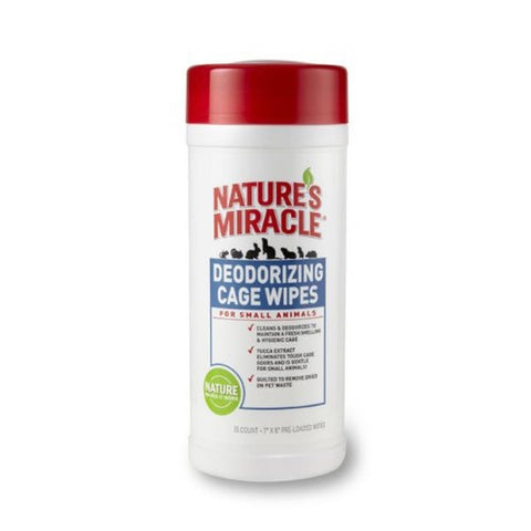 Nature S Miracle Small Animal Cage Wipes