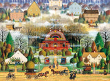 Buffalo Games Melodrama in the Mist by Charles Wysocki Jigsaw Puzzle (1000 Pi... - Chickadee Solutions - 1