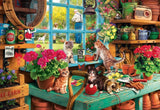 Buffalo Games Grandpa's Potting Shed Jigsaw Puzzle (2000 Piece) - Chickadee Solutions - 1