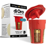 MaxBrew 24K Gold Reusable K-Carafe Filter for Keurig 2.0 - K-Cup Reusable 4-5... - Chickadee Solutions - 1