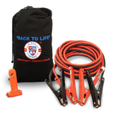 Jumper Cables 4 Gauge Extra Long (20 feet) High Capacity (400 AMP) Tough Insu... - Chickadee Solutions - 1