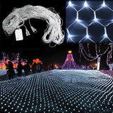 Sunvito 2M x 3M 200 LEDs Net Mesh Fairy String Good Brightness Low Power Cons... - Chickadee Solutions - 1