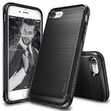 iPhone 7 Case Ringke [Onyx] [Resilient Strength] Flexible Durability Durable ... - Chickadee Solutions - 1