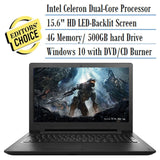 2016 Newest Lenovo Premium Built High Performance 15.6 inch HD Laptop (Intel ... - Chickadee Solutions - 1